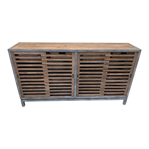 Sliding Door Metal Frame Gaston Sideboard