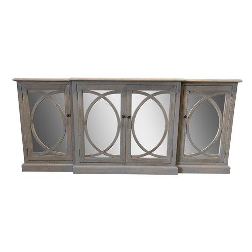 Mandelieu Mirrored Door Sideboard