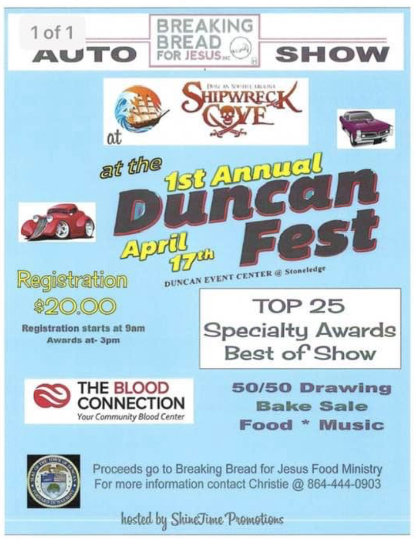 1st Annual Duncan Fest
