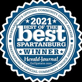 2021 Best of the Best Spartanburg - Winner