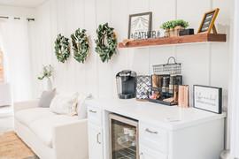 Bridal Lounge with Coffee Bar