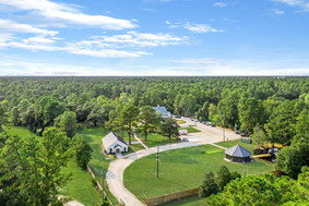 Overhead View of Property