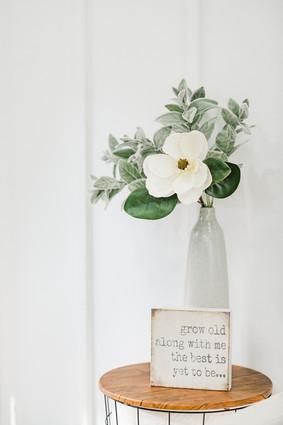 Bridal Suite Decor
