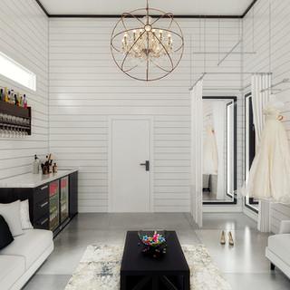 Interior Bridal Lounge Area