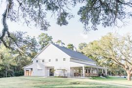 Back of Reception Barn