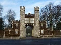 Hillington Hall Entrance