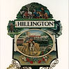 Hillington Village Sign