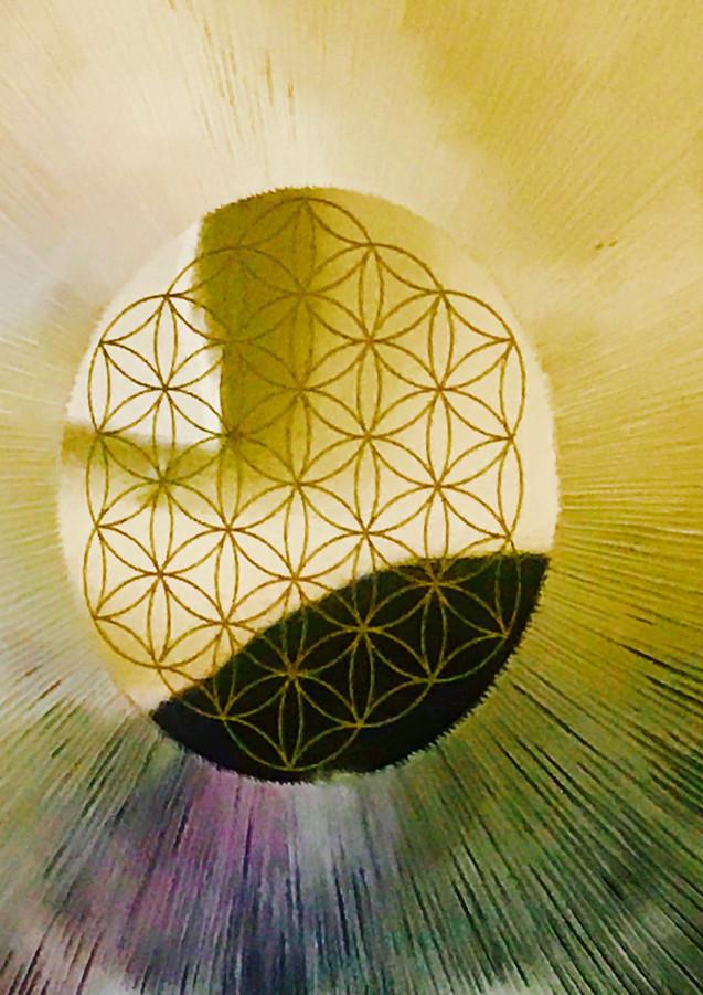 flower of life gong