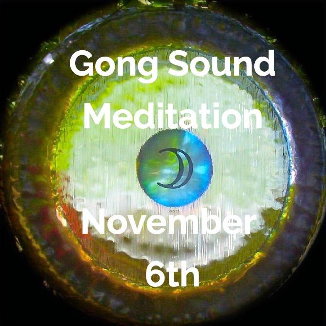 New Moon Gong Sound Meditation