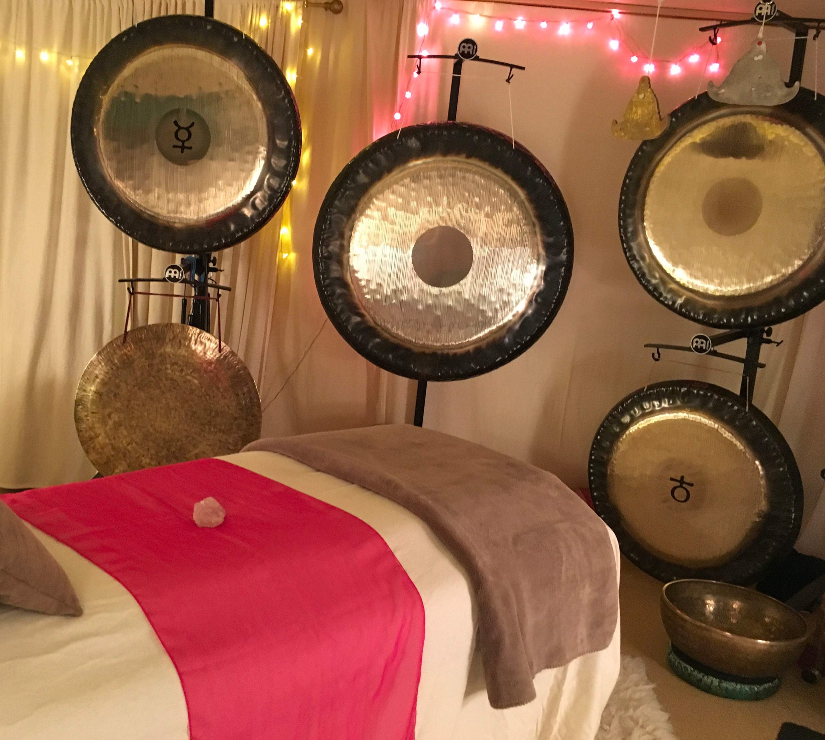 1:1 Private Gong Sound Therapy