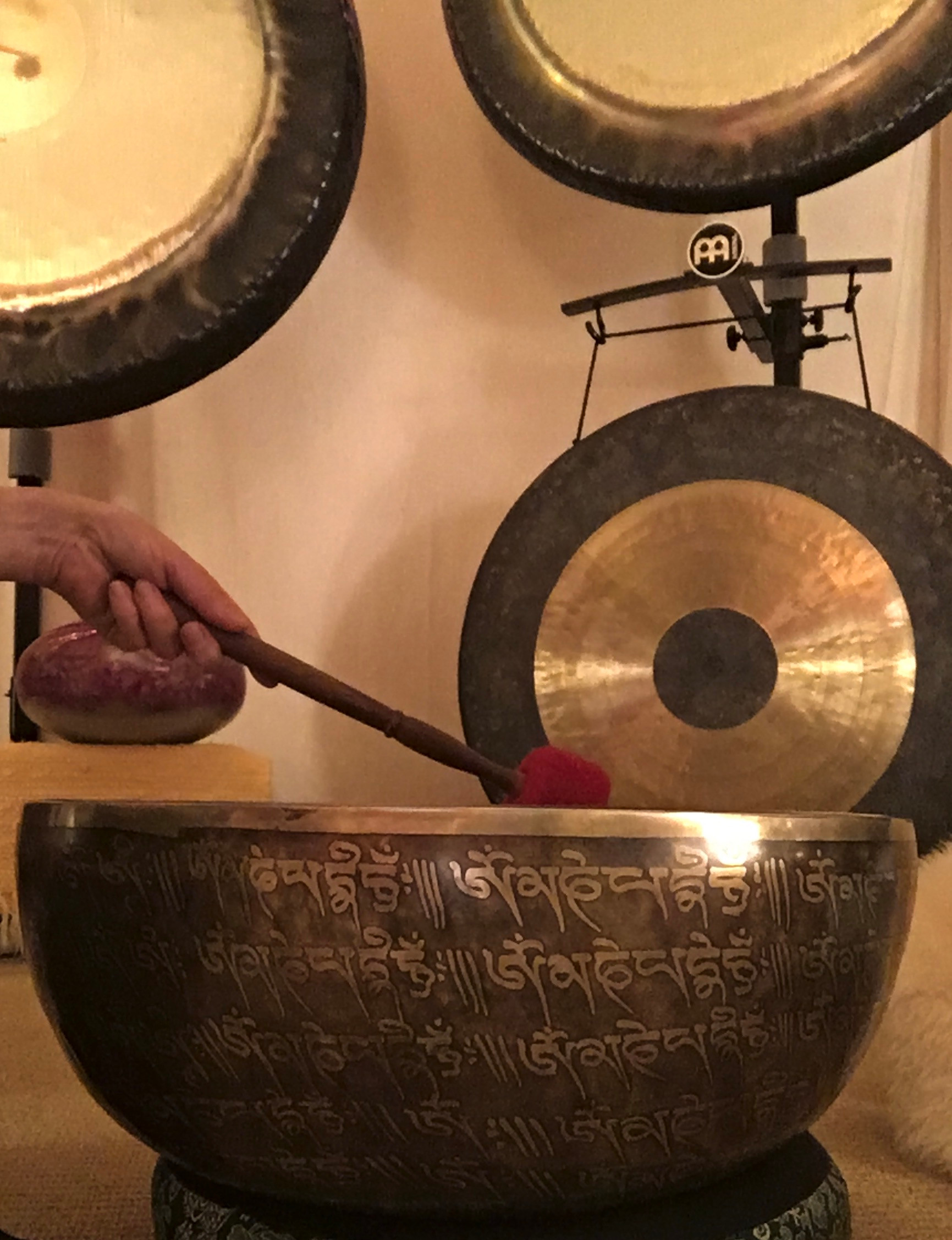 Private Group Gong Baths