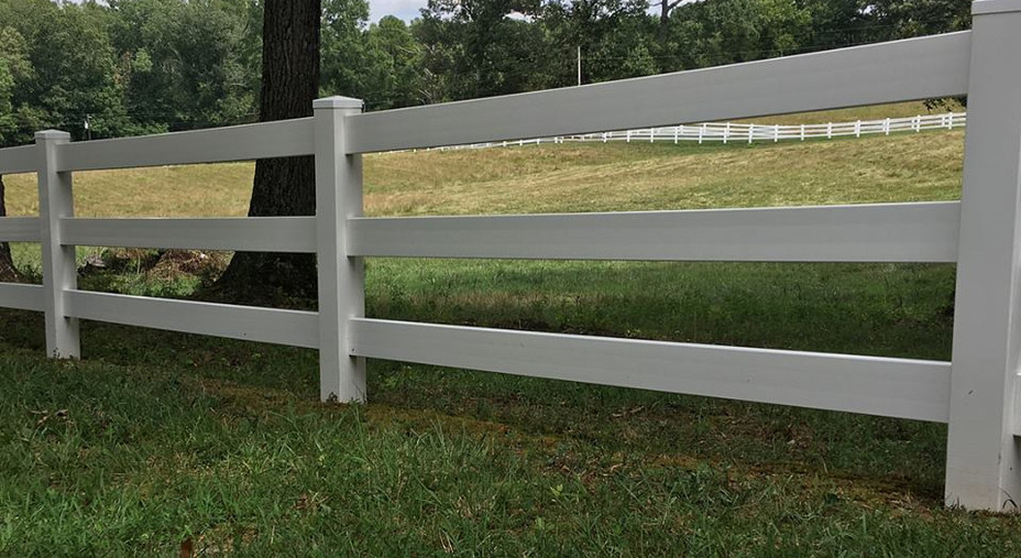 Power Washing Fence: After