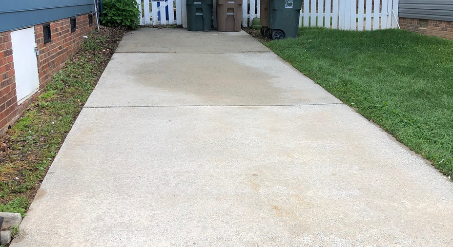 Driveway Cleaning: After