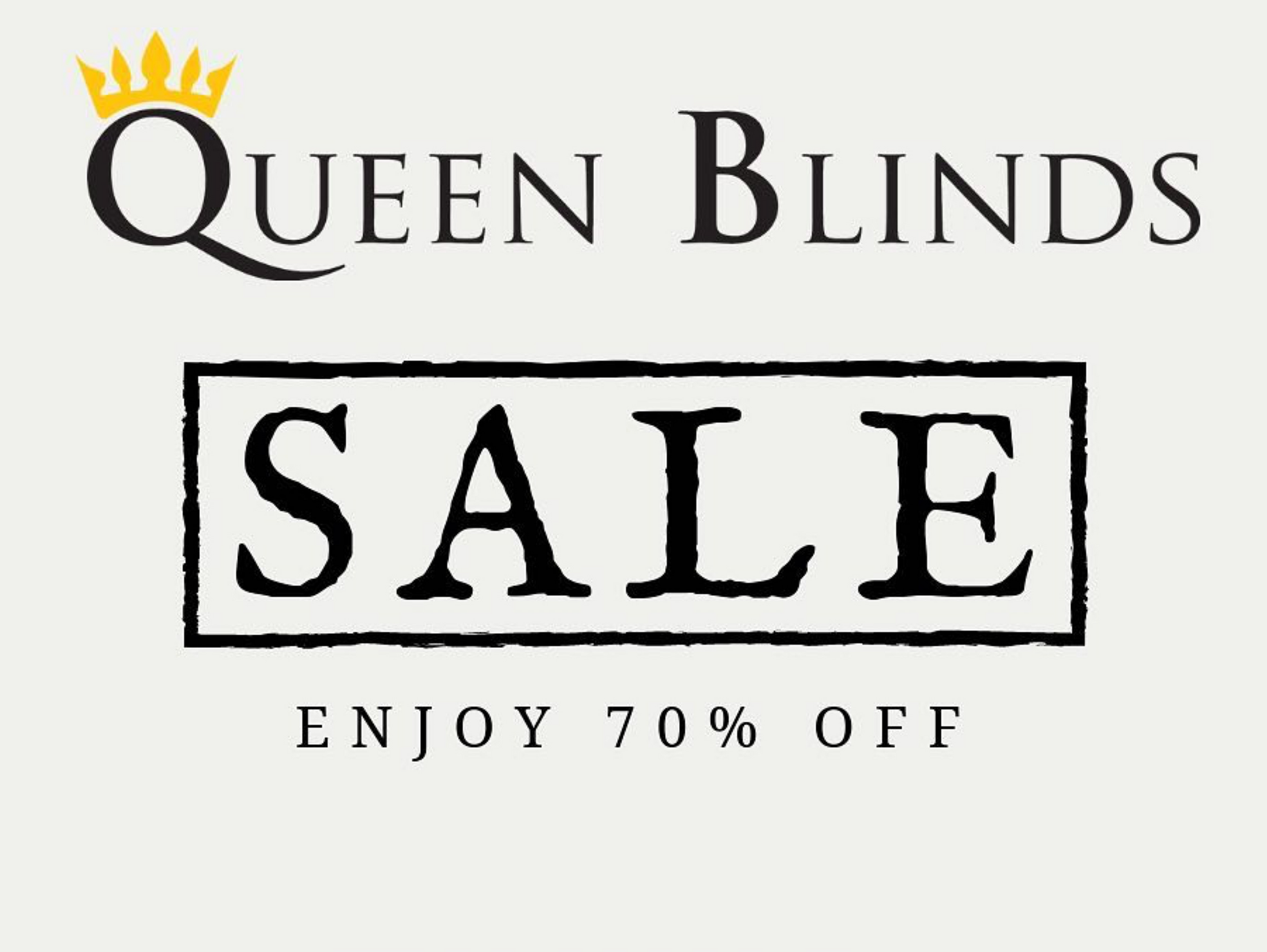 70% Off Selected Blinds