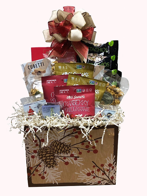 Treats for Two Holiday Gift Basket