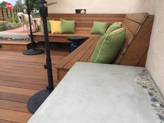 IPE Seat Bench Design