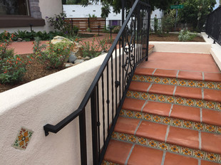 Cultural Design with Decorative Mexican Accent Tiles