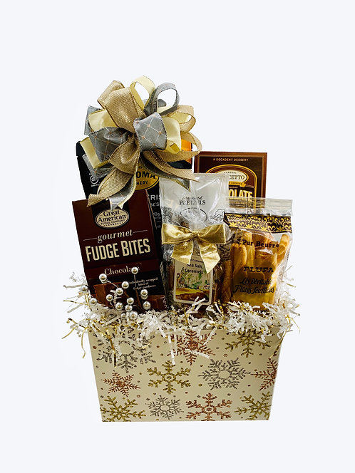 Dance of the Snow Queen Gift Basket - Small