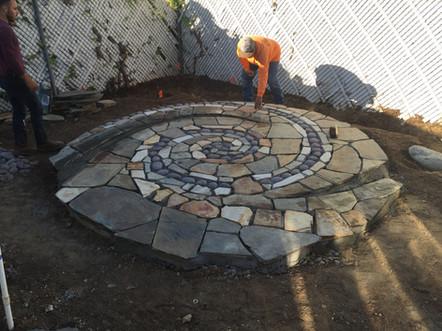 Patio Landscape Constrution