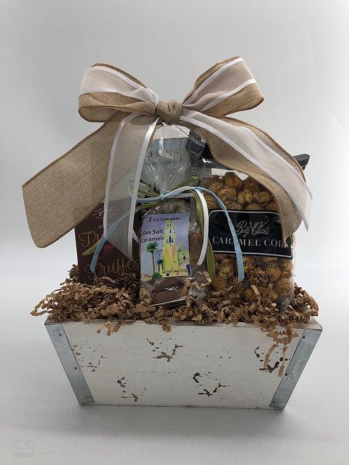 Lovestruck and Smitten Gift Centerpiece