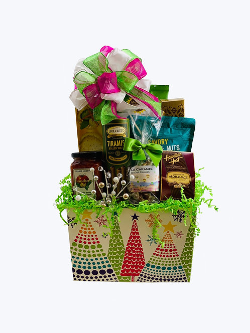 Dance of the Sugar Plum Fairy Gift Basket - Small
