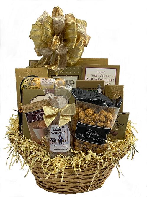 Gold Rush Gift Basket