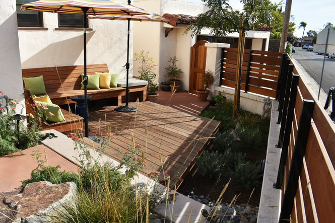 Back Patio Deck with IPE Wood