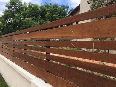 IPE Fence Builder in Mission Hills