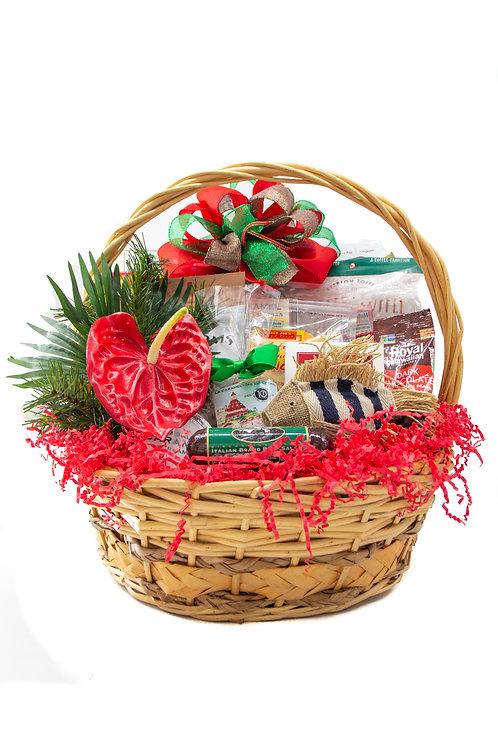 Christmas in Paradise Gift Basket (Medium)