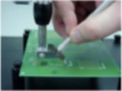 Mini Micro Stencil - Flip Up/PCB Print S