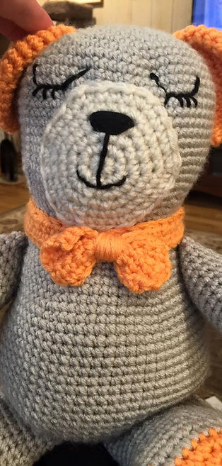 Stuffed Animal Bear Crochet