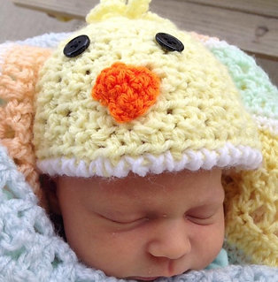 Ducky Hat Crochet