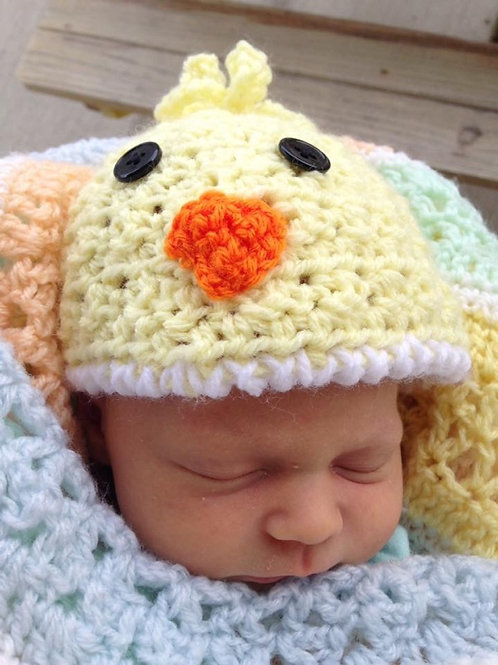 Ducky Hat Crochet
