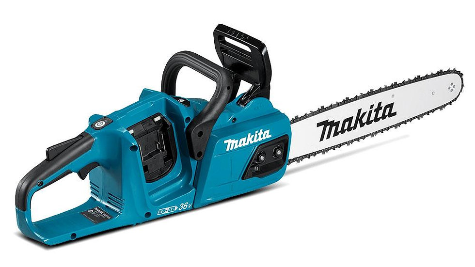 Makita Chainsaw - DUC355 36V Li-ion Cordless Brushless 350mm