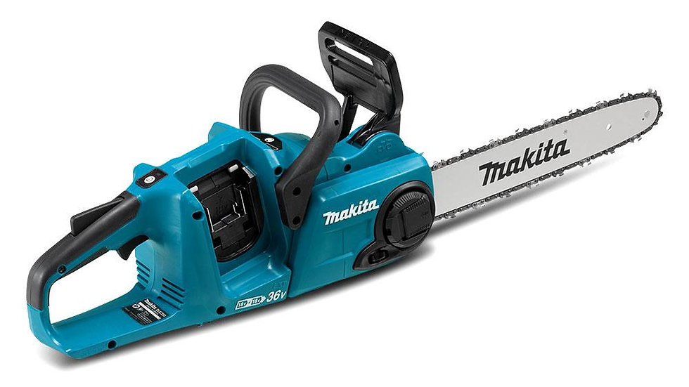 Makita Chainsaw - DUC353 36V (18Vx2) Li-ion 350mm Cordless Brushless