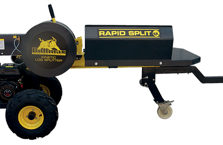 Bullmax kinetic log splitter demonstration