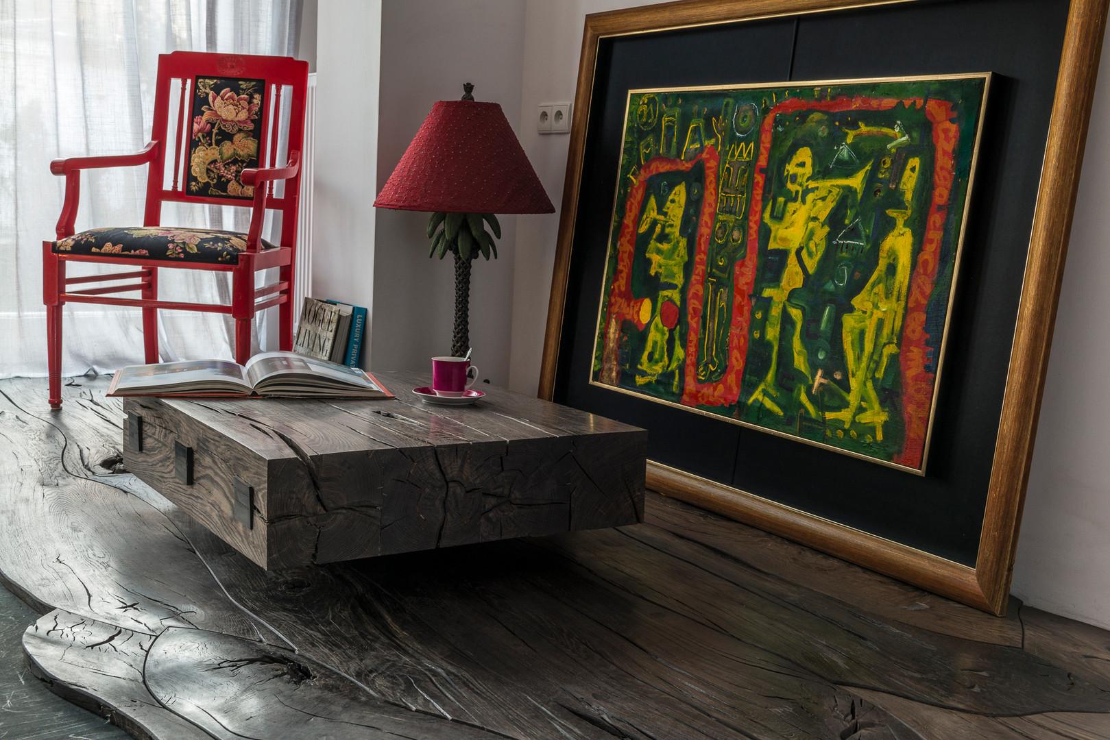 Bog Oak Floor