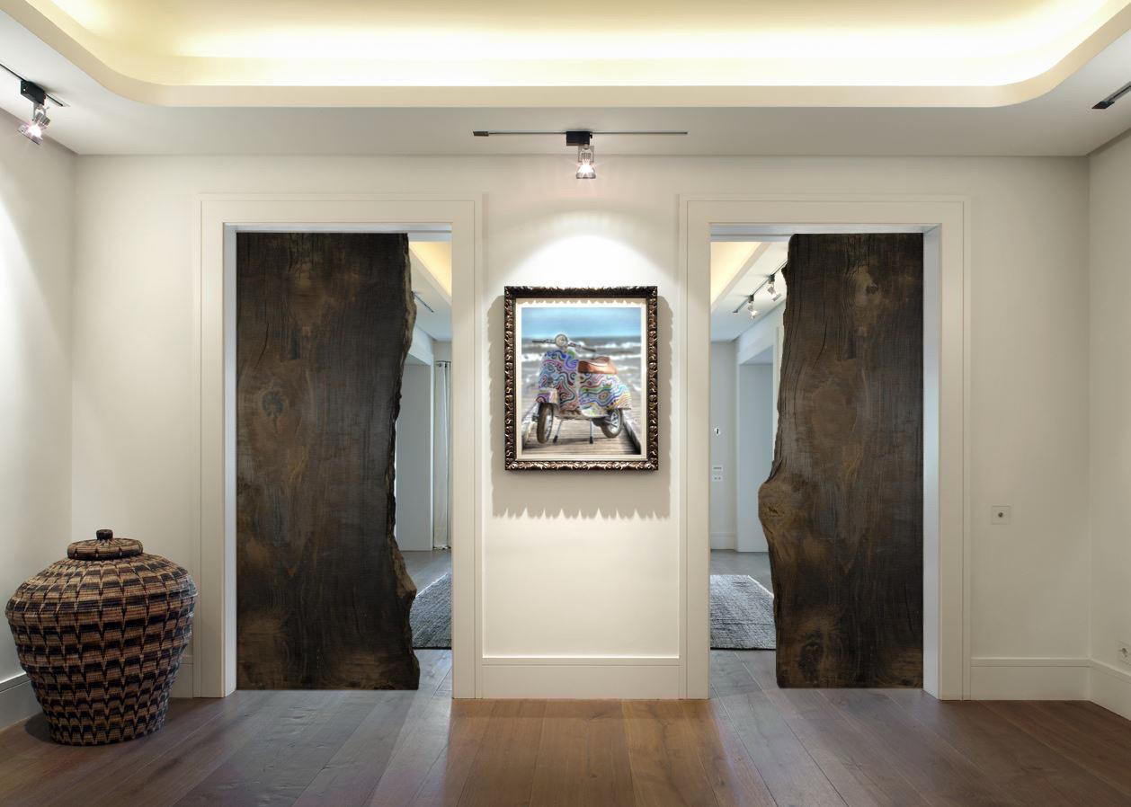 Porte scorrevoli bog Oak