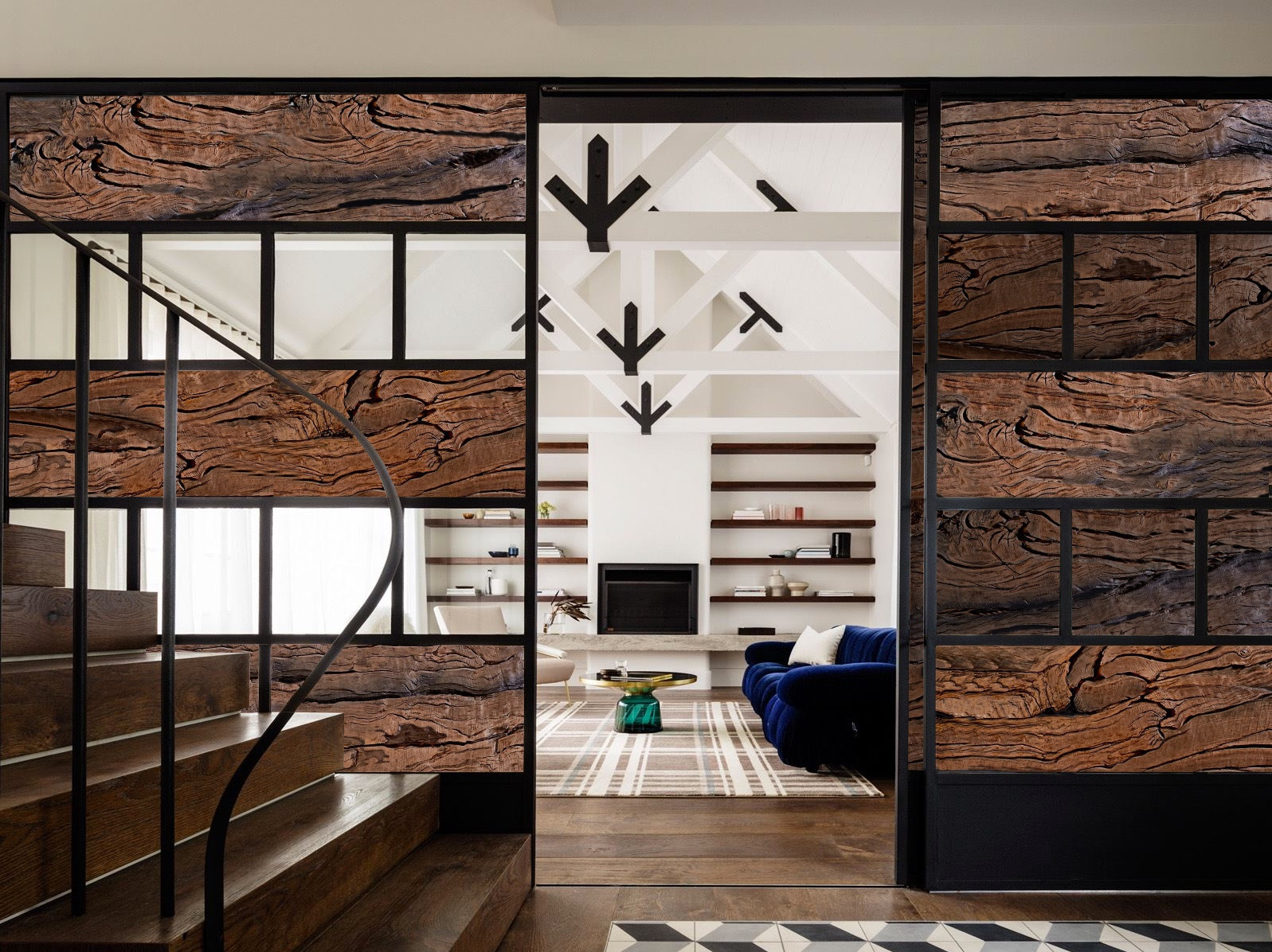 Bog Oak wall design 2