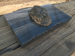 Bog oak pieces