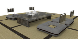 Coffe table bog oak 2