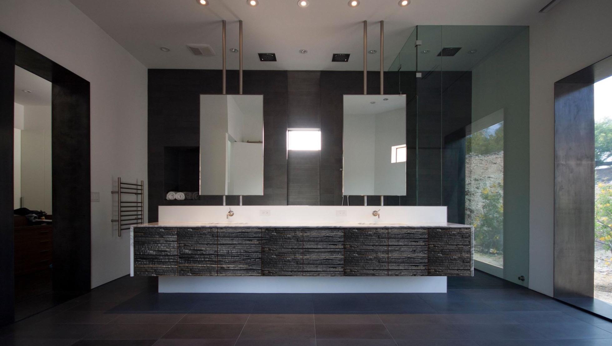 Bog Oak bathroom