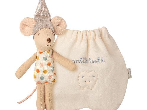 Maus mit Beutel für Milchzähne