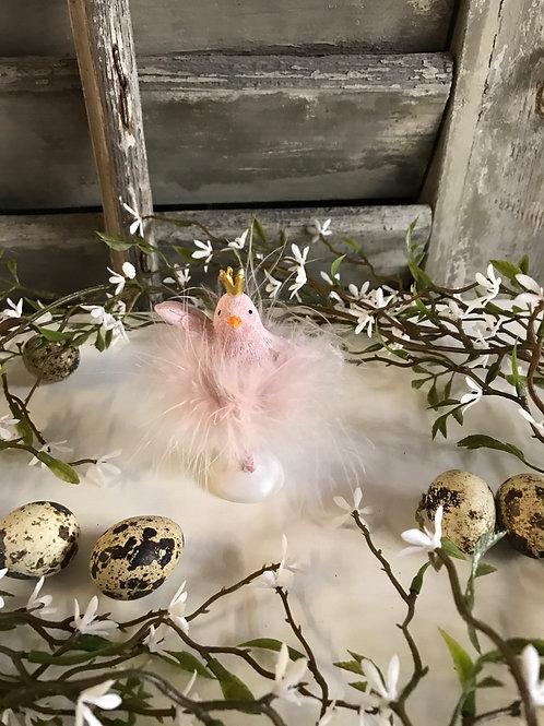 Ballerina Küken, Hände hoch