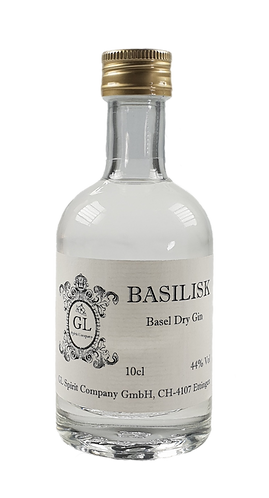 Basilisk Basel Dry Gin – Miniatur
