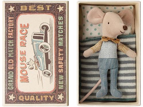 Süsse Maus in Streichholzschachtel
