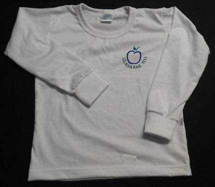 Camiseta GT Manga Longa Branca