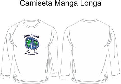 Camiseta Escola Mundi Manga longa