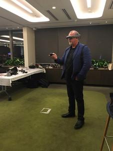 Ric Holland exploring Magic Leap AR. Extreme Digital Ventures