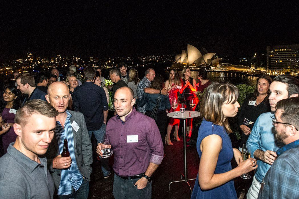 Ric likes to make eClub XMas Events fun as well as informative with plenty of networking opportunity against Sydney's beautiful vistas